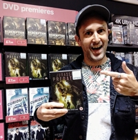 Nathan Head dinosaur movie Jurassic Predator in the official HMV Charts