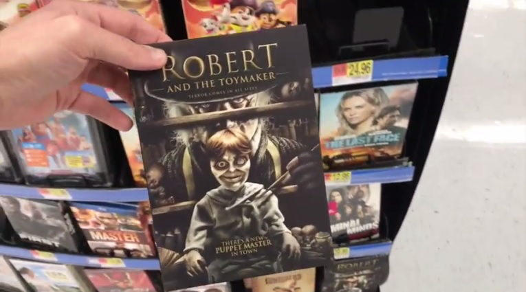 Robert And The Toymaker DVD at Walmart in San Diego
