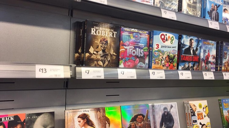 Robert 4 DVD at Morrisons in Seaford East Sussex
