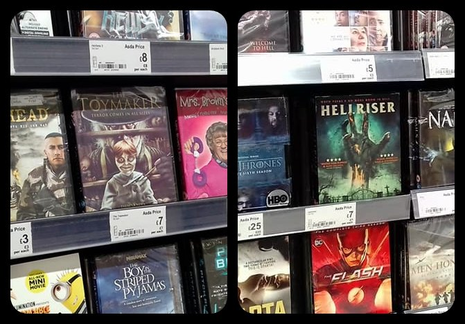 The Toymaker DVD at the Asda Superstore in Ellesmere Port Cheshire