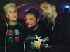 Nathan Head and Alex Vincent and Christine Elise at For The Love Of Horror convention in Manchester 2018