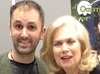 Nathan Head and Valerie Leon at the Mega Liverpool Horror Con 2017
