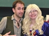 Nathan Head at Scarborough ComicCon 2017 meeting horror fan and crossplayer Paul Tokarski