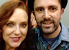 "horror actor ""Nathan Head"" meets Stargate SG1 actor ""Suanne Braun"" at Wales ComicCon 2017 - Hathor"