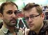 "actor ""Nathan Head"" and YouTuber Airlim aka ""Mark Smith"" at Wales Comic Con November 2016"