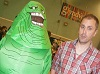 Slimer at Wales Comic Con April 2017