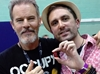 Nathan Head and Andrew Divoff  Wales Comic Con - Hellbound Media