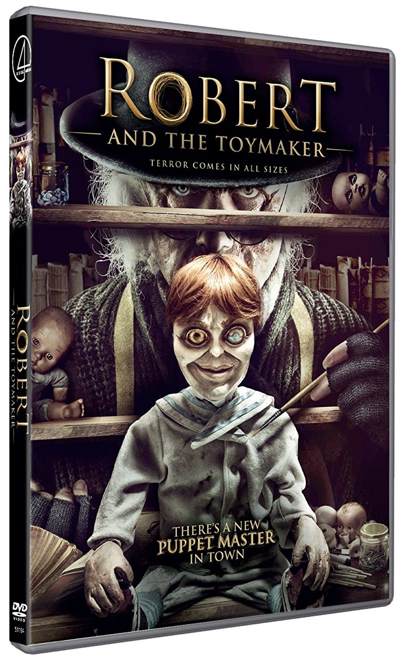 Robert And The Toymaker - North American DVD art