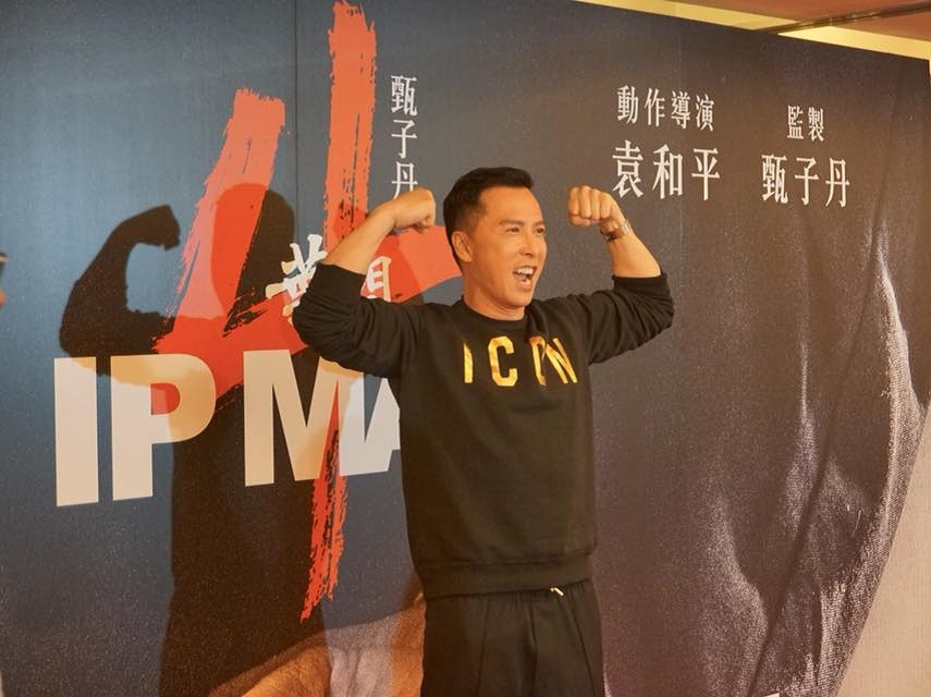Donnie Yen at the Ip Man 4 wrap party
