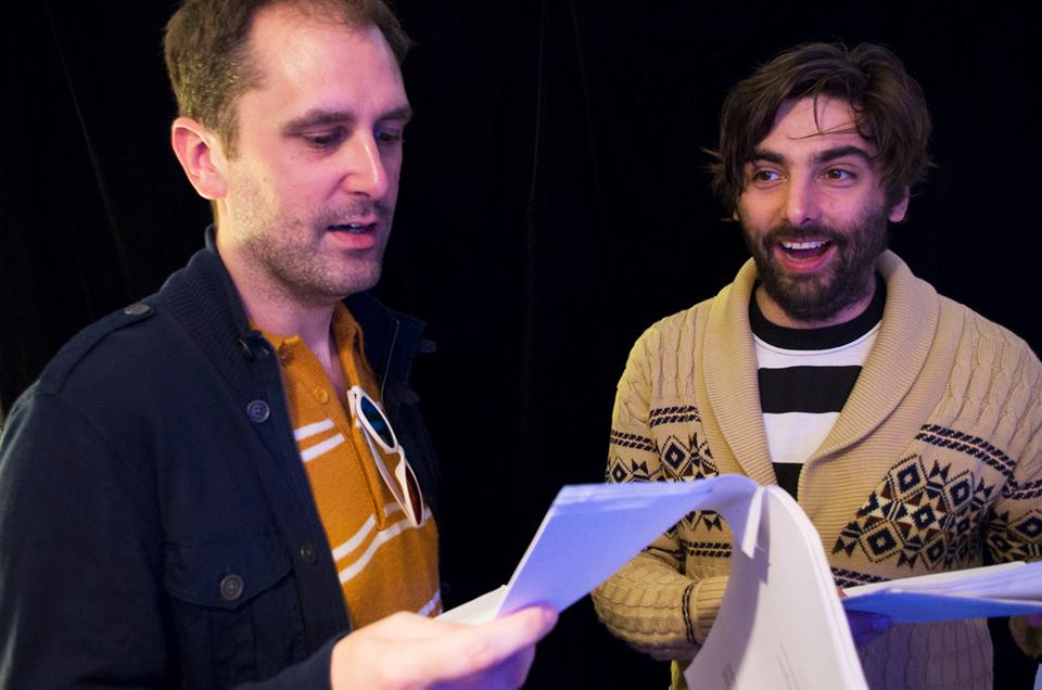 Nathan Head and Joseph Stacey scriptreading for Tearful Surrender