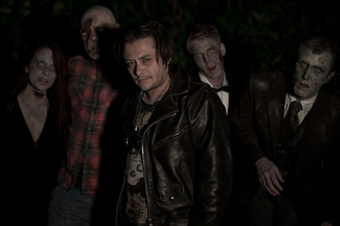 "horror actor ""Nathan Head"" appearing in ""Zombie King"" aka ""King of the Dead"" with ""Edward Furlong"" and ""Corey Feldman"" and ""Jon Campling"""