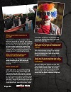 "actor ""Nathan Head"" in ""The Digital Dead"" Magazine promoting ""Theatre Of Fear"""