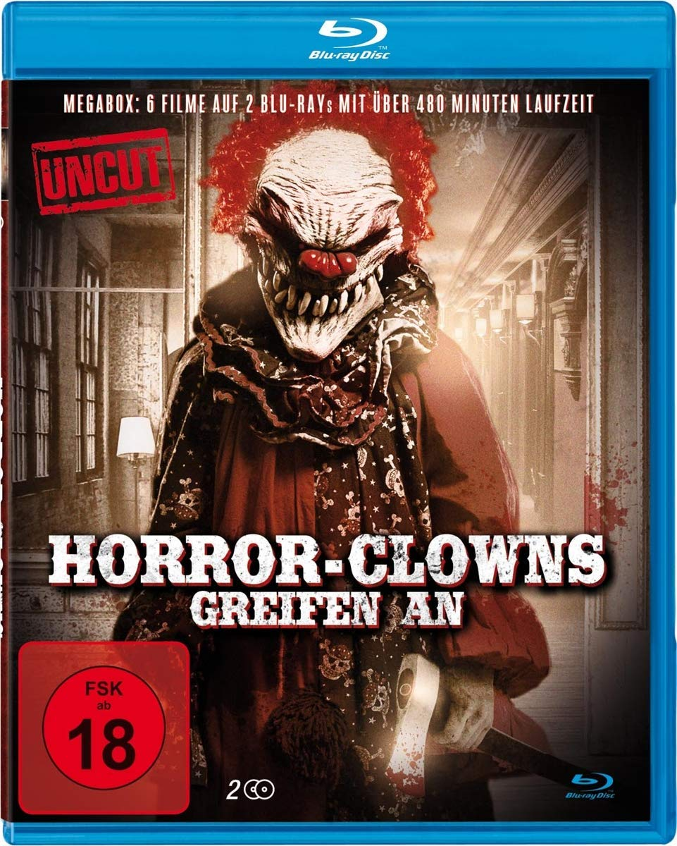 new German Bluray boxset - Horror Clowns