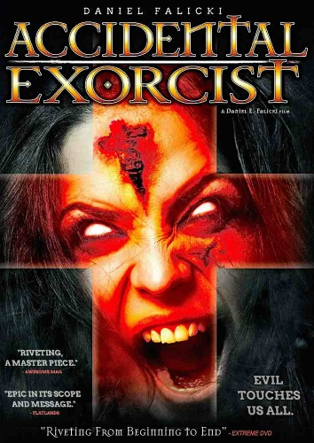 Accidental Exorcist - Hannover House Region 1 DVD art