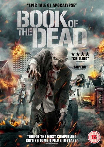 Book Of The Dead - 2013 UK DVD art - Nathan Head zombie anthology movie