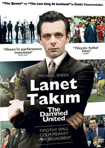 Nathan Head Turkish DVD of The Damned Unites