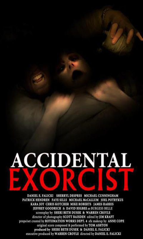 Accidental Exorcist - alternative Digital poster art