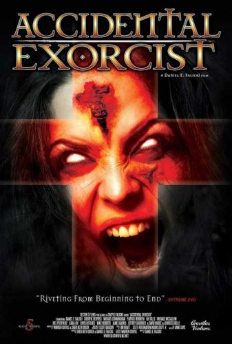 Accidental Exorcist - Gravitas Ventures digital poster