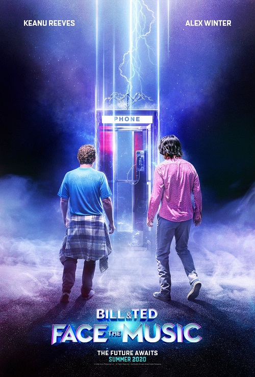 Bill And Ted 3 - prerelease promotional poster