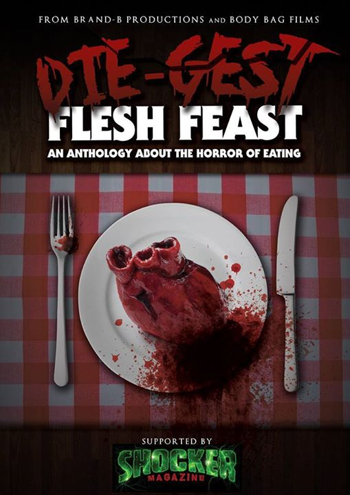 original working title poster for Die Gest Flesh Feast