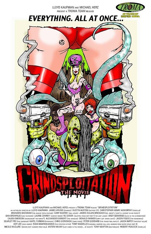 Grindsploitation 2016 Troma streaming artwork