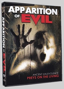 Apparition Of Evil - 2014 Sector 5 Films DVD art - Nathan Head paranormal anthology movie