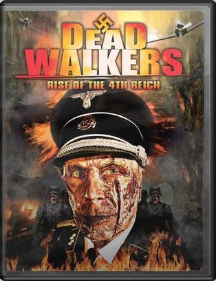 Dead Walkers - 2013 digital download art & 2014 DVD art - Nathan Head Nazisploitation zombie horror