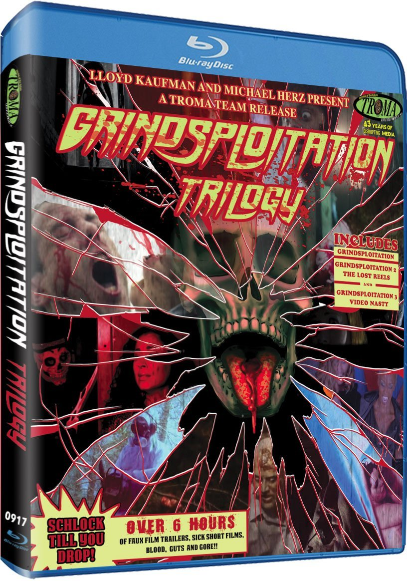 Grindsploitation 2018 Troma BluRay artwork