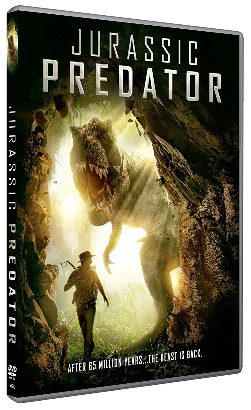 Jurassic Predator - North American DVD art