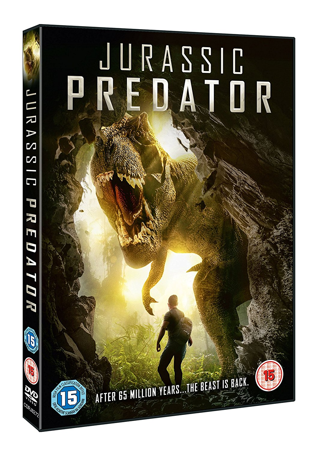 Jurassic Predator - UK DVD art