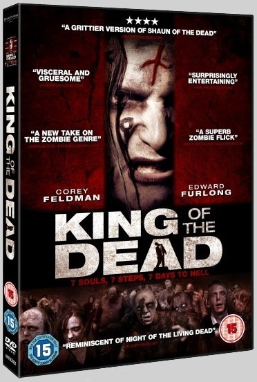 King Of The Dead - 2015 UK DVD art - Nathan Head bad zombie horror