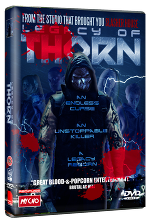 Legacy Of Thorn - 2015 USA DVD art - Nathan Head slasher movie