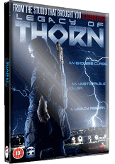 Legacy Of Thorn - 2014 UK DVD art - Nathan Head slasher movie