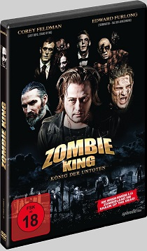 Zombie King - 2013 European DVD art - Nathan Head B-Movie