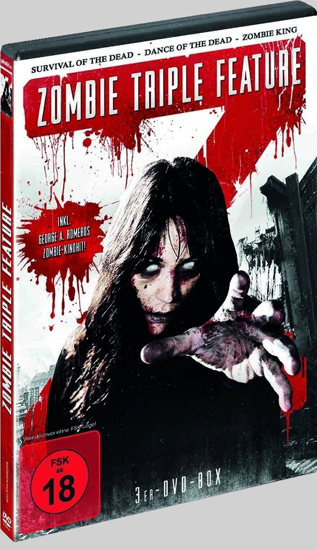 Zombie King aka King Of The Dead - 2015 Box Set DVD art - Nathan Head bad zombie horror