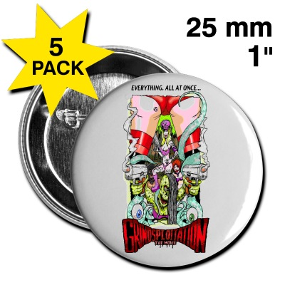 Grindsploitation The Movie collectible Pin - Nathan Head