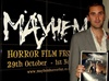 "actor ""Nathan Head"" visiting the Mayhem Horror Festival in Nottingham - 2009"